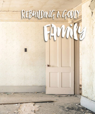 rebuilding a godly family, cd series, dr hattabaugh author