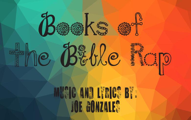 book of the bible rap, cd, joe gonzales author
