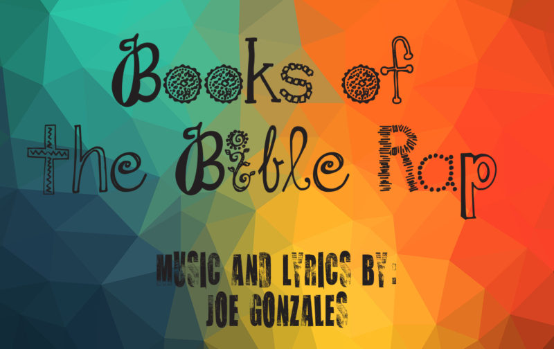 book of the bible rap, cd, joe gonzales author